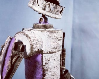 assemblage valerobots purple droid