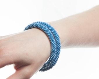 Bracelet transformer. Choker and bracelet of beads, 2 in 1. Браслет трансформер. Чокер и браслет из бисера, 2 в 1.