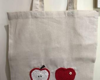 Cotton market/shopper/eco bag/reusable bag