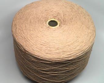 6/2 Organic Cotton Yarn Unmercerized - 50% brown