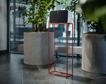 "Red ""SLIM"" Speaker Stand for SONOS PLAY:5"