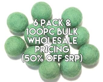 Single Color Pack - SEASIDE Felt Balls