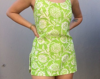 Vintage 1960s/1970s Cole of California Micro Mini Dres