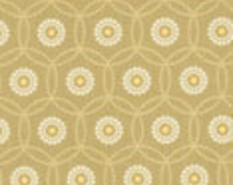 Joel Dewberry, Aviary, Sunburst in Dark Almond JD19 - 1 Yard Clearance