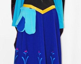 "Anna ""Frozen"". Animator-actor suit"