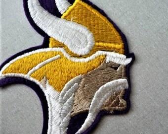 Minnesota Vikings ... Old Football Souvenir Jacket Patch -- Collectible