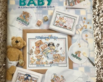 Linda Gillum's Very Best For Baby Cross Stitch Book