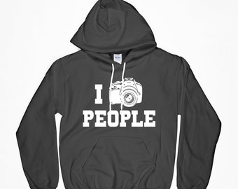 I Shoot People, Camera Hoodie, Photographer, Photographer Shirt, I Shoot People Shirt, Camera T-Shirt, Gift For Him, Gift For Her