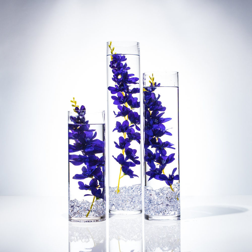 Submersible Purple Wisteria Floral Wedding Centerpiece With