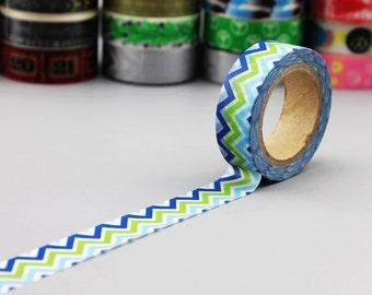 Washi Tape - Japanese Washi Tape - Masking Tape - Deco Tape - WT1018