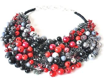 kama4you 3449 necklace crochet