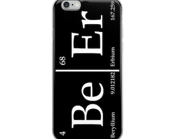 Beer - iPhone Case - Periodic Table - iPhone 6, iPhone 7, iPhone 8, iPhone X