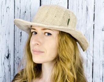 Sun Hemp Hat, Handmade hat, Eco-freindly Hat