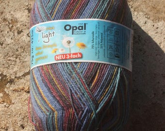 Opal -  Light - Freiheit ( Freedom) 9350 - 3 ply Sock Yarn