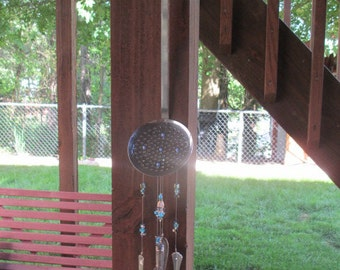 Slotted Spoon Silverware Wind Chime