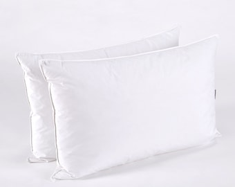 Down Feather Pillow, Set of 2