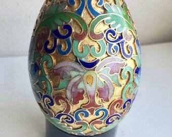 Cloisonné Egg