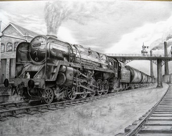 pencil drawing the evening star