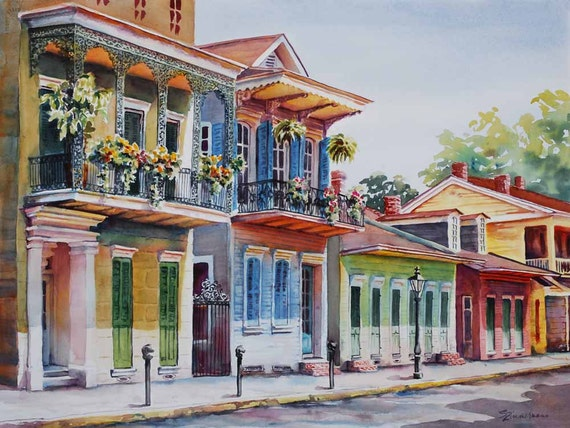 vieux carre historic architecture new orleans french quarter