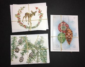 Mixed Holiday Card Set (6)