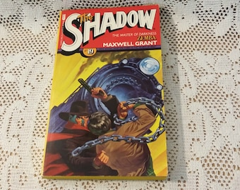 The Shadow #19 Zemba by Maxwell Grant Vintage Book