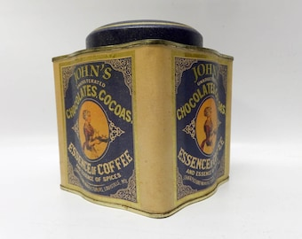 Lovely vintage cocoa tin