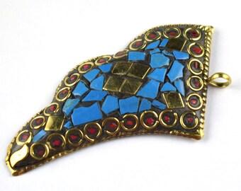 Inspired tribal   pendant