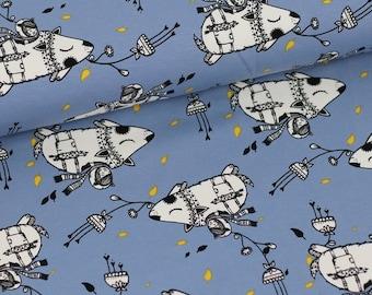 Fabric Flying Hedehogs Stoffonkel