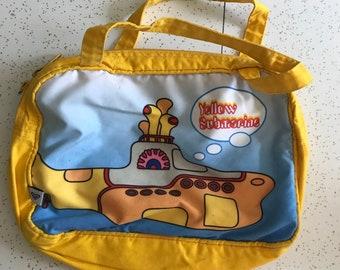1990's Beatles Yellow Submarine Handbag