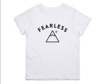 Fearless, children's t-shirt by Always Lost Co.