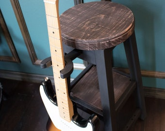 Original Rustic RangerWood Guitar Stool