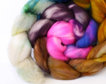 Portland 4 oz Merino softest 19.5 micron Roving Top for spinning