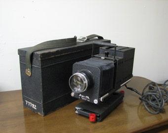 Art Deco, Vintage Spencer Delineascope movie projector