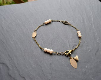 """""""Aguila"""" Crystal chain anklet"""