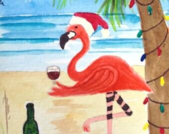 Cheers-Santa Vino Flamingo