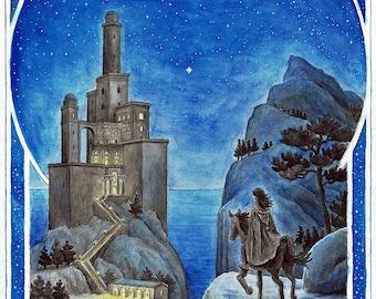 Tower of Tar-Meneldur – Art Print