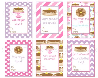 Pancake Valentine's-Kid's Valentine