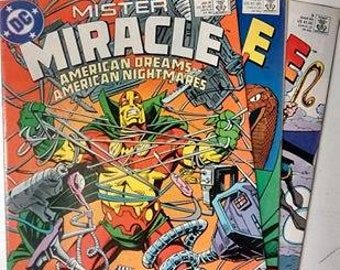 DC Mister Miracle, Issue 1, 2 & 3