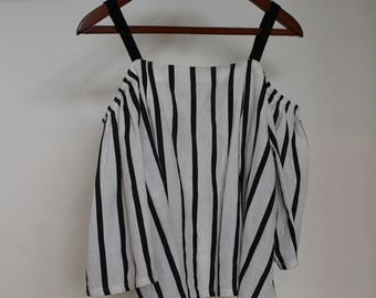 Over the Shoulder Cotton Top