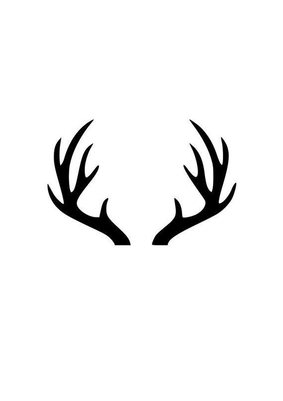 Deer antlers clipart - photo#30