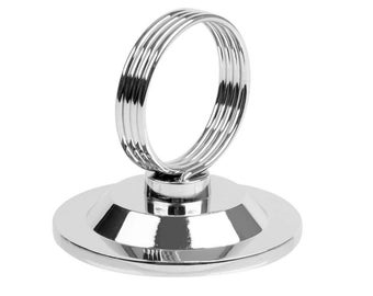 Silver Sign Holder,Table Number Holder, Wedding Table Number Stand ,Place Card Holder ,Wedding Table Decor