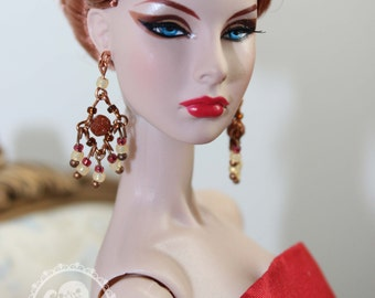 Jewelry for 1/6 dolls: Barbie, Poppy Parker, Fashion Royalty, Nu Face