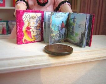 Rapunzel miniature book 12th scale