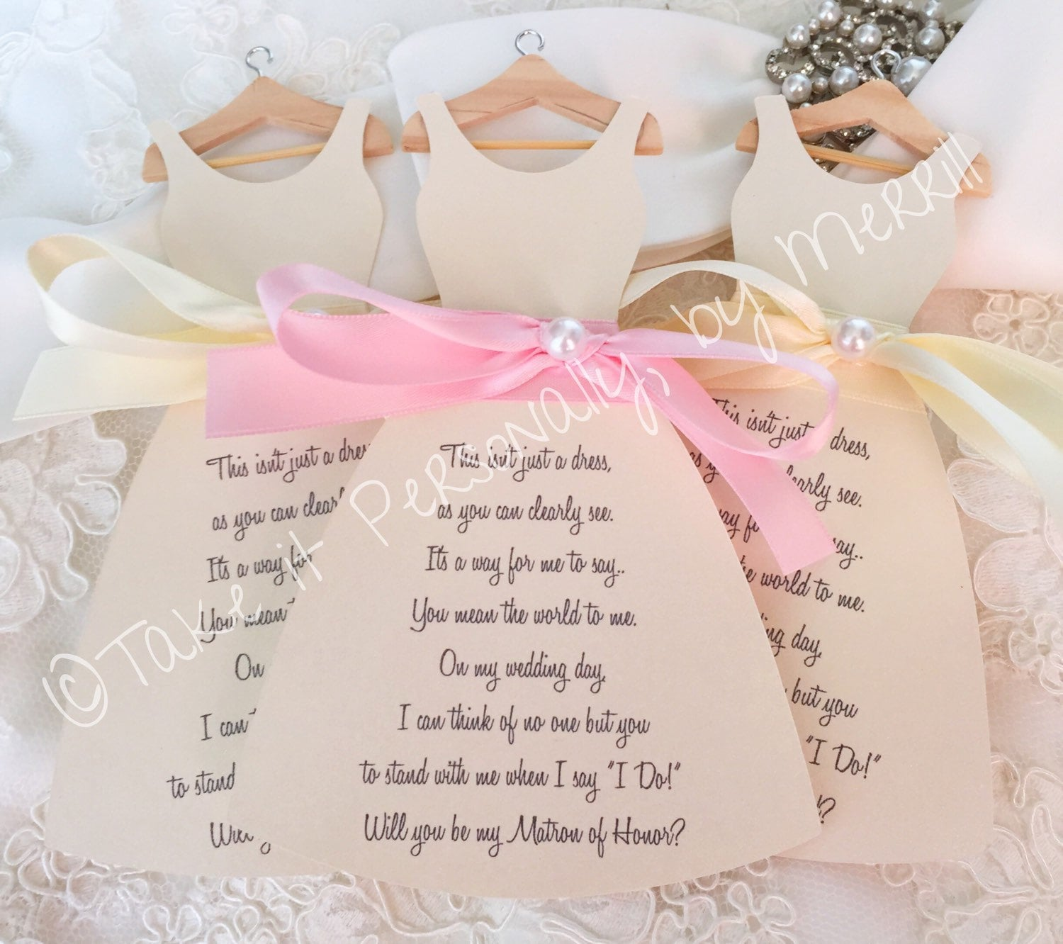 Maid Of Honor Cards | Sample Documents
