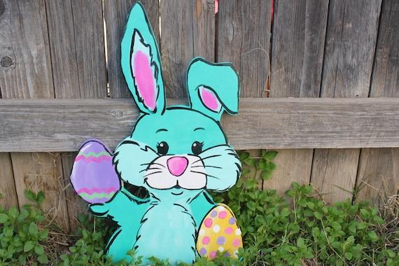 Easter Yard Art-Easter Yard Decor Easter Bunny Outdoor