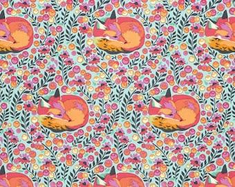 Tula Pink, Fox Nap, Chipper, Sorbet