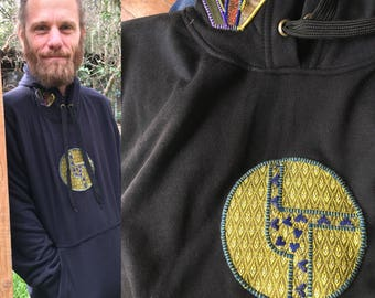 Hearting The Disco Biscuits logo pullover sweatshirt size Medium/Large