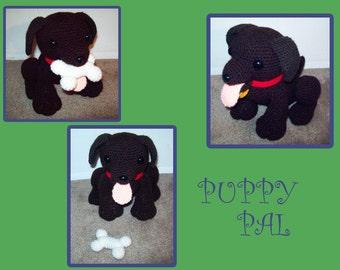 PATTERN: Puppy Crochet Plush
