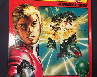 Eagle Annual 1985 - Hardcover Comic Book - Sci Fi Science Fiction