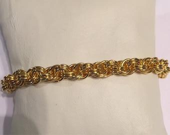 Sale!!  Mens spiral bracelet